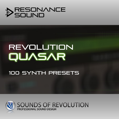 sound patches for the quasar synthesizer