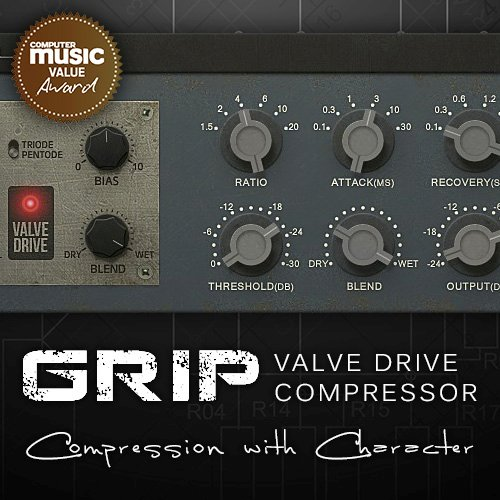 GRIP Valve Drive Compressor Plugin for Music Production