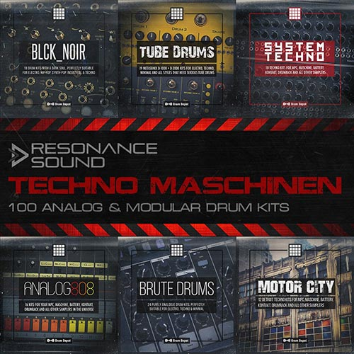 Drum Kits for Maschine Ableton Live and FXPansion Geist