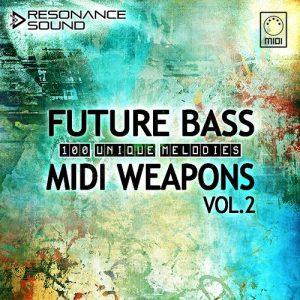 100 Future Bass MIDI files by Resonance Sound