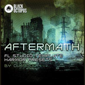 FL studio dubstep template with Harmor presets