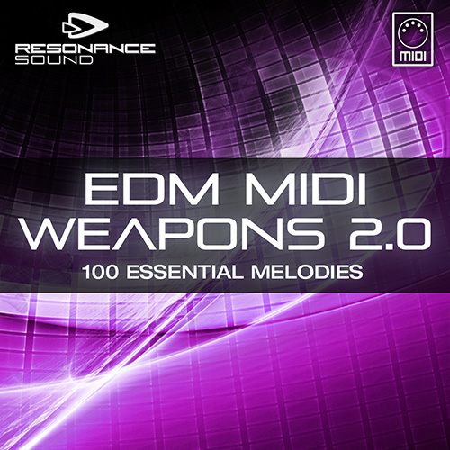 midi loops package for edm producers