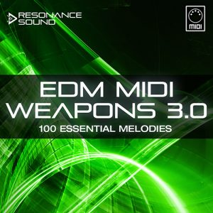 midi melodies for edm music producers