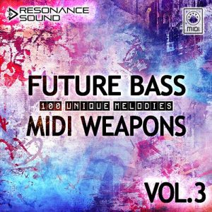 100 royalty free future bass midi loops