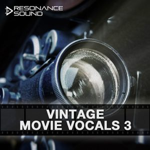old time movie vocal samples