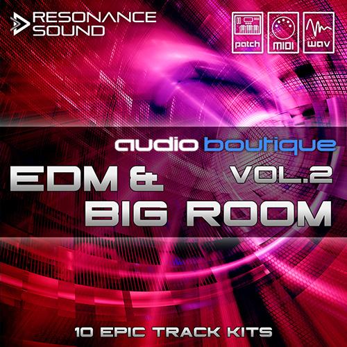 edm & big room loops and samples