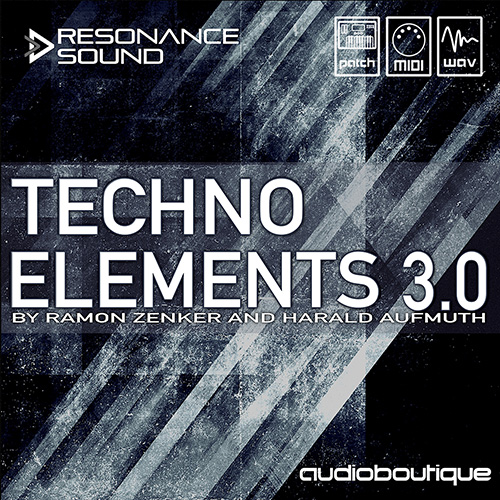 techno samples by ramon zenker and harada of audio boutique