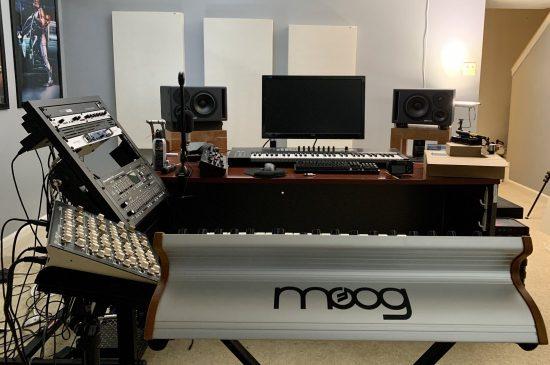 Studio of Aiyn Zahev Sounds