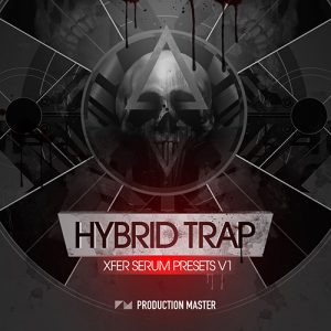 hybrid trap sounds for xfer serum synthesizer