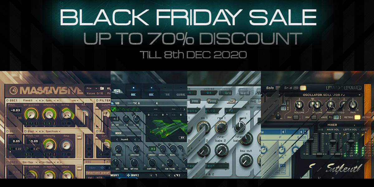 black friday sale on resonance sound shop