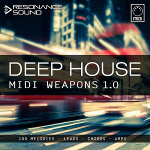 collection of deep house midi melodies for music production