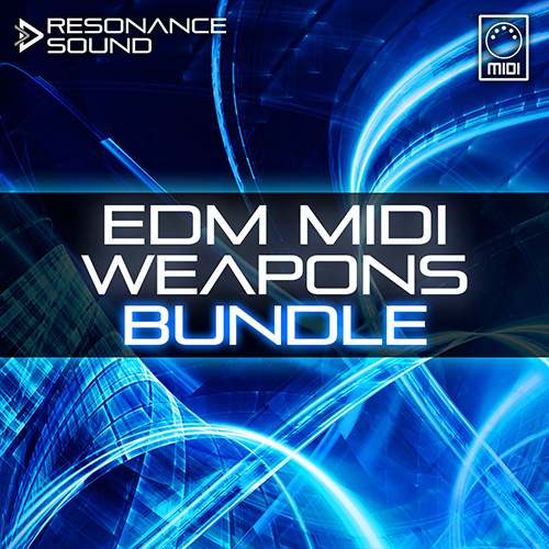 collection of edm midi loops for music production