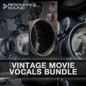 bundle of old vintage movie vocals