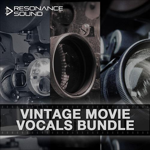 bundle of old vintage movie vocals