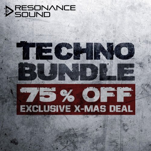 collection of several techno sample packs for discount